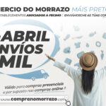 """Continúa a campaña de """"ENVÍOS GRATIS"""" en ABRIL no COMERCIO LOCAL do MORRAZO"""