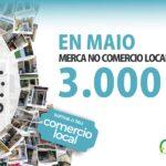 """Lanzamento da campaña """"SOMOS O TEU COMERCIO LOCAL"""" para o mes de MAIO"""